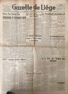 Journal Gazette De Liège 1948. - Journaux - Quotidiens
