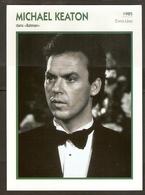 PORTRAIT DE STAR 1985 ÉTATS UNIS USA - ACTEUR MICHAEL KEATON BATMAN - UNITED STATES USA ACTOR CINEMA FILM PHOTO - Fotos