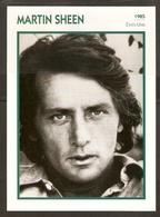 PORTRAIT DE STAR 1985 ÉTATS UNIS USA - ACTEUR MARTIN SHEEN - UNITED STATES USA ACTOR CINEMA FILM PHOTO - Fotos