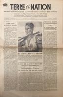 Journal Terre Et Nation 1942. - Kranten