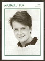 PORTRAIT DE STAR 1985 ÉTATS UNIS USA - ACTEUR MICHAEL J. FOX - UNITED STATES USA ACTOR CINEMA FILM PHOTO - Fotos