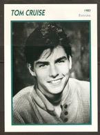 PORTRAIT DE STAR 1985 ÉTATS UNIS USA - ACTEUR TOM CRUISE - UNITED STATES USA ACTOR CINEMA FILM PHOTO - Fotos