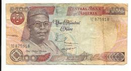 Nigeria 100 Naira 1999 Fine+ - Nigeria