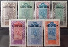 R3586/1266 - 1922/1926 - COLONIES FR. - HAUTE VOLTA - N°24 à 32 NEUFS* Sauf N°24 Et 32 - Ungebraucht
