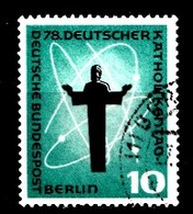 Berlin 1958  Mi.Nr: 179 Deutscher Katholikentag, Berlin  Oblitèré / Used / Gebruikt - [5] Berlin
