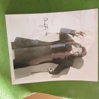 British Actor Christopher Lee Horro Actor Signed 8x10 Photo - Handtekening