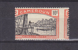 CAMEROUN TAXE 4 PIQUAGE DECALE  LUXE NEUF SANS CHARNIERE - Cameroun (1915-1959)