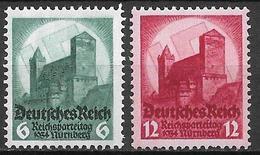 Deutsches Reich 1934 Complete Set MNH - Germany