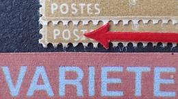 """R1189/616 - 1933/1936 - TYPE SEMEUSE CAMEE - N°277Aa NEUF** - VARIETE ➤➤➤ """" S """" De """" POSTE """" Retouché - Cote : 125,00 € - Variétés: 1931-40 Neufs"""