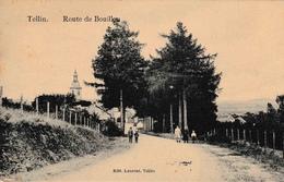 Tellin Route De Bouillon Animation édit Laurent - Tellin