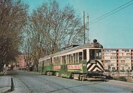 Tranvia  M.11 Nº 70 Construido En 1922 Por La Burgeise --Zona Carretera De Mataro En Mayo De 1964 - Tranvía