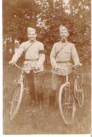 Soldats Hétuin Et Ladroye Raymond à Vélo   1914-1918   31°Dragon 13°Escadron - Guerre 1914-18