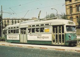 """Tranvia -""""PCC-Washington"""" Nº 1658  Serie 1601-1699-Foto En Pso.de San Juan 16/8/70-""""Westinghouse"""" - Tranvía"""