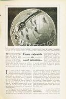 Tout Rajeunis De Neuf Minutes /  Article,  Pris D`un Magazine / 1910/1911 - Boeken, Tijdschriften, Stripverhalen