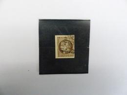 CERES  47  OBLITERE   SIGNE  CALVES  COTE  250 € - 1870 Uitgave Van Bordeaux