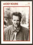 PORTRAIT DE STAR 1990 ÉTATS UNIS USA - ACTEUR MICKEY ROURKE - UNITED STATES USA ACTOR CINEMA FILM PHOTO - Fotos