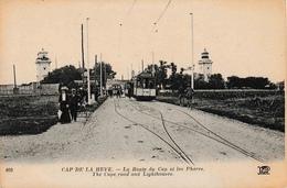 76 CAP De La HEVE La Route Du Cap Et Les Phares TRAM - Cap De La Hève