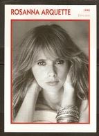 PORTRAIT DE STAR 1990 ÉTATS UNIS USA - ACTRICE ROSANNA ARQUETTE - UNITED STATES USA ACTRESS CINEMA FILM PHOTO - Fotos