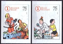 Belgie - 2020 - OBP - 5  Max. Kaarten - ** Suske & Wiske 75 Jaar ** Uitgifte Bpost - Belgien