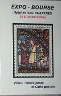 Petit Calendrier Poche 2004 Expo Bourse Tmbre Poste Chartres - Calendars