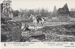 80 PROYARD - Guerre 14/18 - Une Vue De - Officier à Cheval - Francia