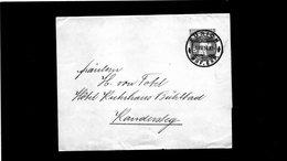 CG6 - Svizzera - Annullo Su Lettera  Da Zurich Del 1/8/1914 Per Kandersteg - Storia Postale