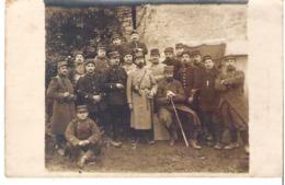 Soldats  54° Régiment D'Infanterie Etat Major De La 10° Compagnie Guerre De 1914-1915 - Guerre 1914-18