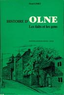 Histoire D'OLNE - Les Faits Et Les Gens - Henri LIMET - Editions Georges THONE, Liège - 92 Pages - Culture