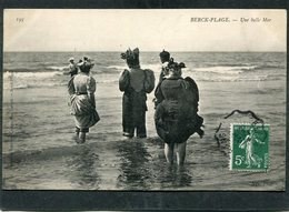 CPA - BERCK PLAGE - Une Belle Mer, Animé - Berck