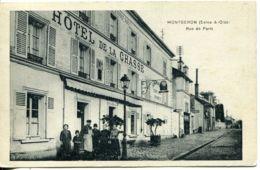 N°2310 T -cpa Montgeron -rue De Paris- - Montgeron