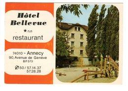 ANNECY (74) - Hôtel Bellevue - Restaurant - Annecy