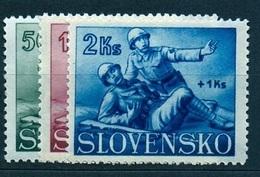 Slovakia 1941 Michel: 88-90 ** MNH - Ungebraucht