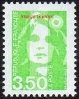 France N° 2821 ** Marianne Du Bicentenaire De Briat Le 3f50 Vert Jaune - France