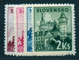 Slovakia 1941 Michel: 81-84 ** MNH - Slovakia