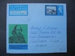 1965 - Shakespeare Festival ( 6d ) - Interi Postali