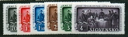Slovakia 1942 Michel: 105-110 ** MNH - Ungebraucht