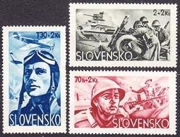Slovakia 1943 Michel: 121-123 ** MNH - Ungebraucht