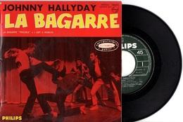 EP JOHNNY HALLYDAY - LA BAGARRE + 2 - EXCELLENT ETAT - - Rock