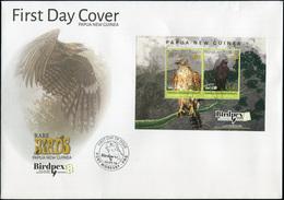 Papua New Guinea. 2018. Rare Birds 2 (Mint) First Day Cover - Papua-Neuguinea