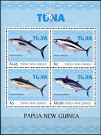Papua New Guinea 2016. Tuna Fishery (MNH OG) Miniature Sheet - Papua New Guinea