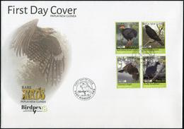 Papua New Guinea. 2018. Rare Birds (Mint) First Day Cover - Papua-Neuguinea