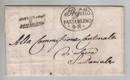 147PR/ Prefetto Passariano 48 1810 Udine D° Passarian > S.Daniele - 1. ...-1850 Prefilatelia