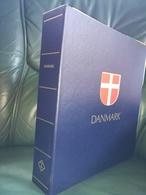 DANEMARK -  DANMARK - ALBUM RELIURE ET FEUILLES LEUCHTTURM (sans Les Timbres) DE 1851 A 1986 - NEUF - Albums & Reliures
