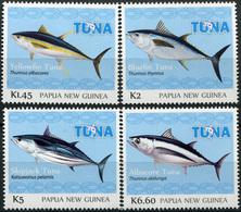 Papua New Guinea 2016. Tuna Fishery (MNH OG) Set Of 4 Stamps - Papua New Guinea