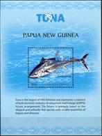 Papua New Guinea 2016. Tuna Fishery (MNH OG) Souvenir Sheet - Papua New Guinea