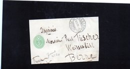 CG6 - Svizzera - Annullo Su Lettera Da Lausanne 8/9/1908 Per Berne - Postmark Collection