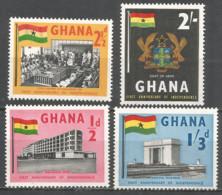 Ghana 1958 Mint Stamps MNH (**) Set - Ghana (1957-...)