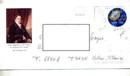 Pap Euro Flamme Bry Daguerre Illustré Portrait Daguerre Magicien De L'image - Ganzsachen