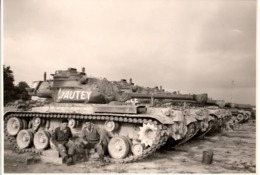 LYAUTEY C.1960 - Char Tank - Guerre, Militaire