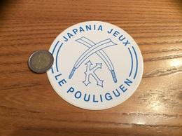 AUTOCOLLANT, Sticker «JAPANIA JEUX - LE POULIGUEN (44)» - Autocollants